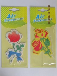2015 flower scent hanging paper perfume as flower shaped promotional gift