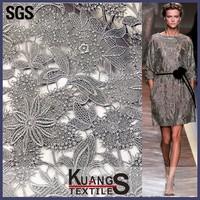 nigeria organza sequence lace fabric