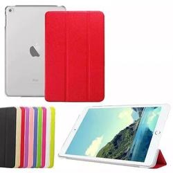 ultra slim leather case PU smart cover for iPad mini 4 case
