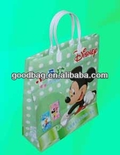 Mickey Mouse colorido encantador impresso plástico saco decorativo