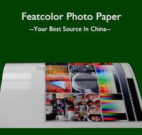 Factory waterproof rc glossy inkjet photo paper