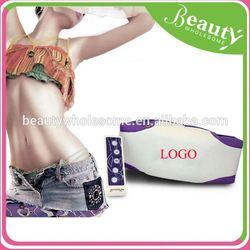 vibro two motors slimming massage belt ,H0T095, electronic vibrating body building belt