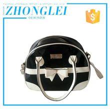 Quick Lead Custom Logo Nubuck Leather Handbag Bag