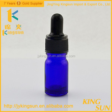 wholesale Essential Oil Use cobalt blue boston glass spray bottle
