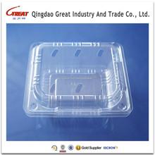 PET Plastic Disposable Mushroom Container