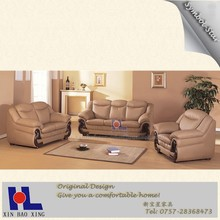 #928 Home design genuine leather sofa couch set