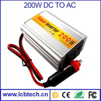 200W Portable Car Truck Boat USB DC 12V to AC 220V Super Power Inverter Converter Charger