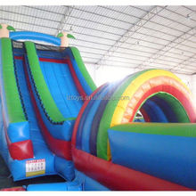 fun water slides , LZ-B2613 18ft inflatable water slides