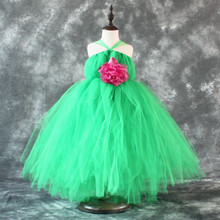 2~5T shijp61 party dress for 2-12 years old girls colorful ball gown girl dress
