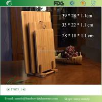 TF073 Flat Grain Bamboo Kitchen Accessories, Chopping Block Bamboo