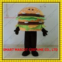 Good ventilation adult hamburger mascot costumes 100% positive feedback hamburger mascot costume
