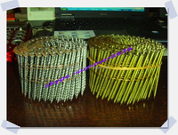 color coated coil 300 Pcs Per Roll Wire Collated Coil Nails Welding Machine