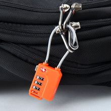 TSA21100 Resettable 3 Digit Combination Padlock free shipping Suitcase Travel Lock TSA locks Luggage Padlock