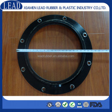 ISO9001 neoprene rubber molded sprung lip seal with steel ring steel spring