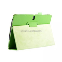 PU litchi leather back cover case for Samsung GALAXY Tab S T800