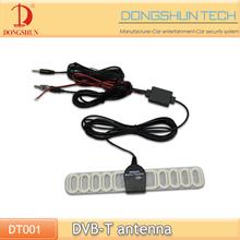 DVB-T digital am car radio antenna with 2 connectors