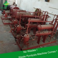 Easy Getting License Small Waste Plastic Pyrolysis To Oil Machine Sold to Brazil