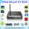 ENY EM10 MXQ 4K and Kodi Android TV Box Amlogic S812 MXQ Quad Core Android 4.4 Aluminum Casing MXQ M10 TV Box