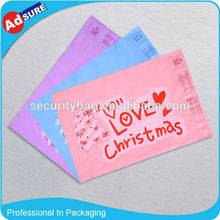 Custom Plastic Shipping Envelopes/Courier Bags Sealing Tape/Printed Poly Bags
