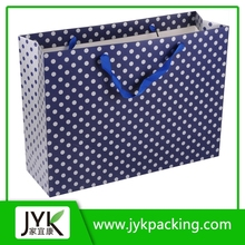 Die cutting handle printed extra large shopping bag