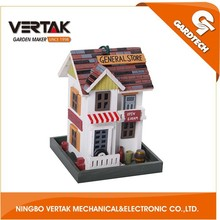 Front rank of garden tools supplier best selling wooden bird houses made in China