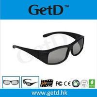 2d to 3d converter polarized glasses with high definition lens