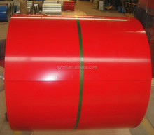 ppgi coil form Hebei , prepainted galvanized steel coil, color coated steel coil