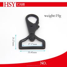 For bag black gun dog leash metal swivel snap hook bag accessory