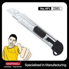 Knife Cut For Paper Office Cutter Knife Metal Handle Pocket Knife Hand Tool Cutter Knife