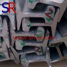 U71mn U75V qu70, Qu80, Qu100, Qu120 grue acier rail de chemin de fer à vendre