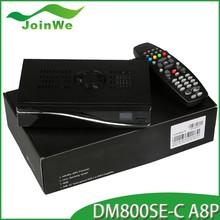digital satellite receiver dm800se-C a8p sim of sunray800se-C a8p sim with dvb-c cable tuner receiver dm800hd se cable receiver