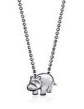 Amazon SJ Stylish Women Jewelry SJMN012 Fashion Zinc Alloy Rhodium Plated Animal Pendant Promotional Necklace