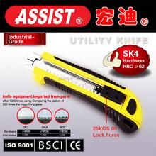2015 Cutter kinfe easy cut durable utility knife steel blade abs case heavy duty plastic cutter kinfe