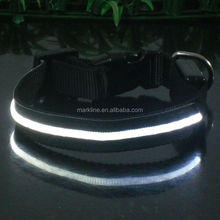 High quality pet dog products led pet collar for dog