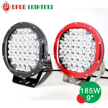2015 hot sale on US market 9Inch CR Led 185W LED Driving Light, 9/32V Driving on Jeep, Offroad car Led driving light