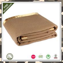 hot sale100%wool for hotel wool blanket