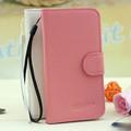 pequeño moq y venta al por mayor de grano lychee tirón cartera de cuero cubierta de la caja para blackberry 9300