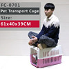 61x40x39 CM Travel pet cage,pet flight carrier, pet flight cage