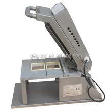 Manual Tray Sealing Machine | Food Tray Wrapping Machine | Tray Sealer