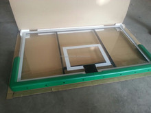 Retail Solid As A Rock Tempered Glass Basketball Backboard