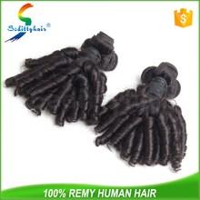 mongolian aunty funmi hair bouncy curls, nano ring human hair extensions for black women