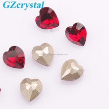 artificial pointback stone crystal accessories for garment