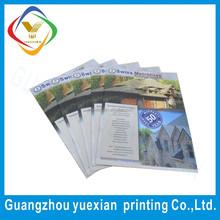 China manufacture custom product catalogue / sample school brochures / sample leaflet
