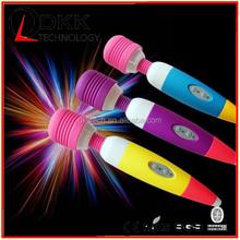XA203 Cute Shape Girl Love Silicone 8 speed magic wand massager AV massager vibrator