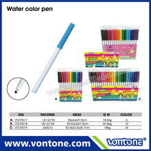 promotional plastic water colour pen for children