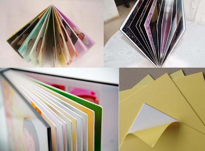 PVC album sheet