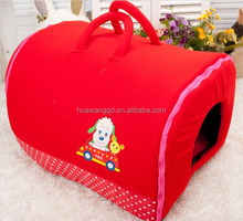 High quality cheap dog houses, hot red pet dog carriers, promotional dog accessories