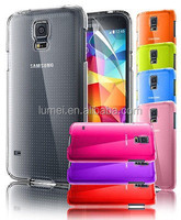 Crystal Clear Hard Back Case Cover For Samsung Galaxy S5 MINI With Screen Protector