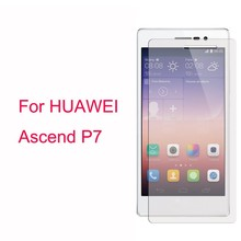 Genuine HD PET Clear Protective Screen Film Protector For Huawei Ascend P7