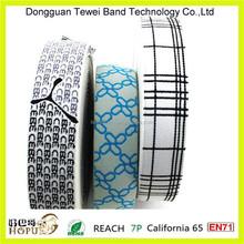 Men's elastic waistband,lingerie elastic lace,jacquard nylon elastic for brief